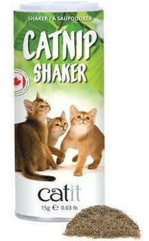 Would You Like To Stimulate Your Cat To Play More Intensely Or Keep Your Feline Away From Your Furniture Then Catnip Is The Way To Go! The Catit Senses 2.0 Catnip Shaker Contains 100% Dried Canadian Catnip.   Sprinkle On Cat Toys And Scratching Posts, Or