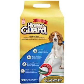 Dogit Home Guard Training Pads With Quick Dry Technology Are Great For Housebreaking Puppies As Well As For Dogs At Any Stage Of Life, And Are The Ideal Alternative To Newspaper Or Litter Boxes.   Effectively Absorbing Moisture And Odors, Thanks To Its Qu