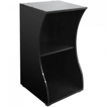 The Fluval Flex Aquarium Stand For 57 L/15 Us Gal Aquariums Comes In A Coordinating, Stylish Black Colour And Its Curved Design Follows The Smooth Contours Of The Flex Aquarium. The Fluval Flex Stand Features An Integrated Shelf, Perfect For Added Storage
