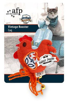 Vintage Cat Feather Fish, Asstd (2566)