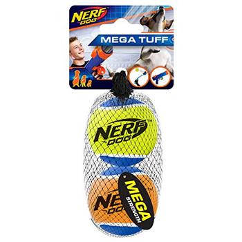 Nerf Dog Megastrength Balls Med2pk(3451) Vp6668{L+7}