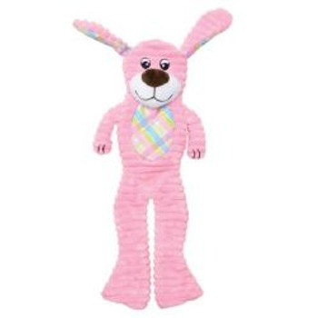 Dogit Stuffies, Crinkle Pink Dog 16in