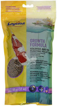 Laguna Growth Floating Fish Food Contains A Special Blend Of High Quality Proteins, Vitamins And Minerals To Promote Rapid Growth. This Floating Fish Food Is Designed For Premium Nutrition For Growing Show-quality Koi And Goldfish.   The Nutritional Make