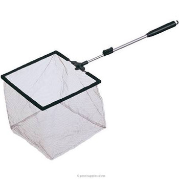 The Laguna Mini Pond Net Provides A Wide Variety Of Features For Making Maintenance Work In And Around Ponds Very Convenient. An Extendable Aluminum Shaft Allows You To Adjust The Reach To Give You Just The Right Range. The Frame Is Square And The Soft Ne