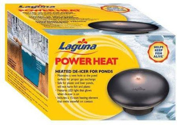 The Laguna Powerheat 315-watt De-icer Keeps And Maintains A Thawed, Open Area At The Pond Surface, Allowing Toxic Gases From Fish Respiration And Decomposing Organic Matter To Escape. The Thawed Area Also Allows Oxygen To Re-enter The Pond. Safe For Plast