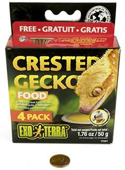 Exo Terra Crested Gecko Food - 4 Pack