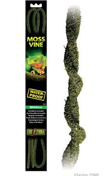 Exo Terra Moss Vines Can Be Used For Decorative Purposes Or For Enlargement Of The Dwelling Area. These Water-proof Vines Are Bendable, Twistable Life-like Vines With A Natural Feel And Look And Can Be Twisted Together With Vines Of Different Sizes To Cre