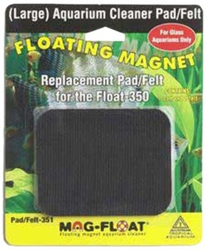 Replacement pad/felt for the large glass Mag-Float #00351 (Contains 1 pad and 1 felt)