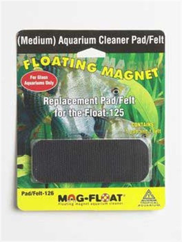 Pad/Felt replacement for the Float-125 (Medium) - contains one pad and one felt.