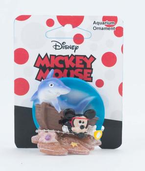 Penn-Plax Ornament Mickey Shipwreck with Shark