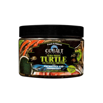 Cobalt Ultra Turtle Sticks Floating Fish Food 4x10mm 3.8oz