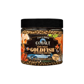 Cobalt Ultra Goldfish Pellets Floating Fish Food 3mm 1.7oz