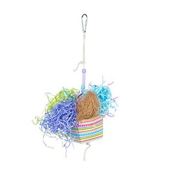 Bird activity toys are essential for a bird #;s mental health, happiness, and well being. Offering birds a variety of toys discourages destructive behaviors and provides mental stimulations, exercise, and fulfills instinctive needs. This new collection