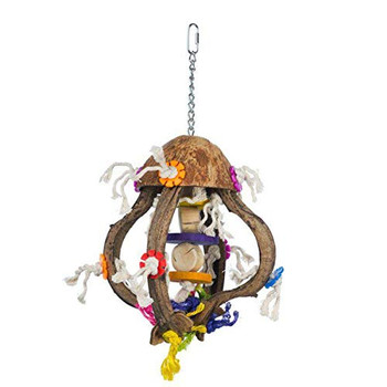 Bird activity toys are essential for a bird's mental health, happiness, and well being. Offering birds a variety of toys discourages destructive behaviors and provides mental stimulations, exercise, and fulfills instinctive needs. This new collection provides lots of