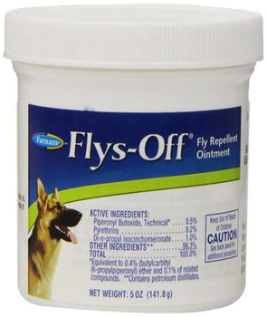 Farnam Flys-Off Fly Repellent Ointment 7oz