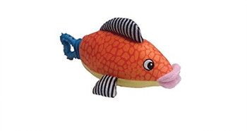 Plush Nubbins Fish Is Adorable, Multi-Textured Fun! Soft Plush Combined With Flexible Rubber That Satisfies A Dog #;S Natural Instinct To Chew And Massages Gums For A Healthy Mouth. The Perfect Combination For Dogs To Chew And Cuddle!