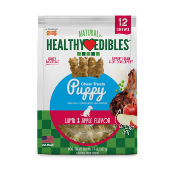Nylabone Healthy Edibles Puppy Pals Pouch 12ct