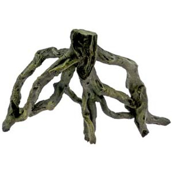 Blue Ribbon Exotic Environments Driftwood Small. Rustic branches wind and twist creating numerous hideouts and maze-like getaways, perfect for cichlids, reptiles or any aquarium/terrarium environment. Safe and non-toxic.