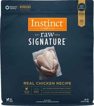 Nature's Variety Instinct Frozen Raw Signature Real Chicken Dog Bites 4lb SD-5
