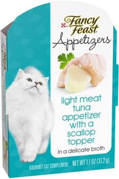 Fancy Feast Appetizers Light TunaTopper 10/1.1Z