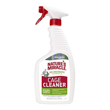 Nature's Miracle Small Animal Cage Cleaner 24 oz Trigger
