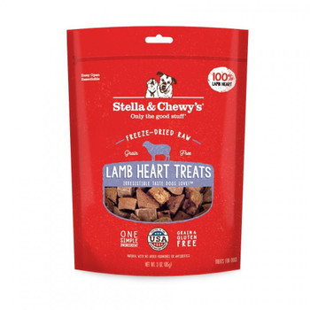 Only One Ingredient And One Source Of Protein. Each Lamb Heart Treat Is A Generous, And Always Tasty, Piece Of Freeze-dried Raw Nutrition. Made In The Usa! High-protein, High-value Training Treats. Perfect For Dogs With Food Sensitivities Or Allergies. Co