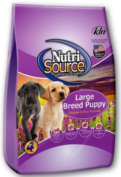 With The Needs Of Puppies Expected To Be Larger Than 50 Pounds Full Grown In Mind, Nutrisource Large Breed Puppy Chicken And Rice Dry Dog Food Utilizes A Holistic, Easy To Digest Recipe For Ideal Health Maintenance In Large Breeds. This Recipe Is Made Wit