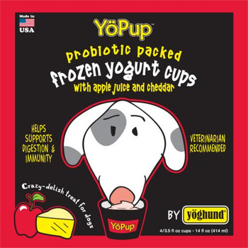 Yoghund All Natural Apple & Cheddar Frozen Yogurt *REPL 922003 SD-5