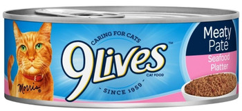Take Your Cat To The Coast With Every Bite Of 9 Lives Meaty Pate Seafood Platter Cat Food. This Delicious Dinner Features Soft Grounds Of Fresh Fish And A Delicious Sauce To Create Flavors That Cats Just Can't Resist.