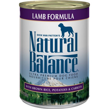 Great For All Life Stages, Natural Balance Ultra Premium Lamb Formula Canned Dog Food Offers Your Pup Complete And Balanced Nutrition They Need. From Growing Puppies To Less Active Seniors, Natural Balance Ultra Premium Lamb Formula Canned Dog Food Uses H