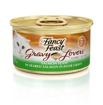 Delicious Chunks With Salmon In A Rich Seared Salmon Flavor Gravy.