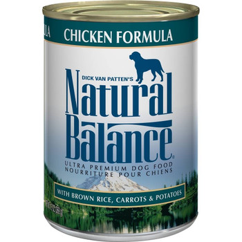 Great For All Life Stages, Natural Balance Ultra Premium Chicken Formula Canned Dog Food Offers Your Pup Complete And Balanced Nutrition They Need. From Growing Puppies To Less Active Seniors, Natural Balance Ultra Premium Chicken Formula Canned Dog Food