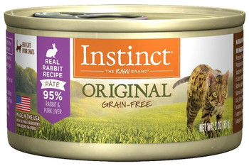 A Nutritious, Grain-free Diet Packed With Real Rabbit Awaits With Instinct Grain-free Rabbit Formula Canned Cat Food. Made With High Quality Protein And Omega Fatty Acids To Support Healthy Energy And A Glossy Coat And Skin, Instinct Grain-free Rabbit Can