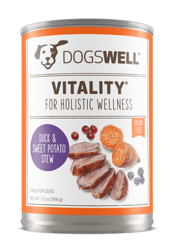 Vitality Duck And Sweet Potato Canned Dog Food-13-oz, Case Of 12-{L-tx}