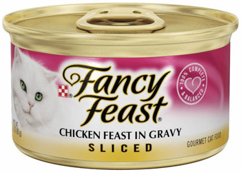 """It's The Flavor That Captivates The True Gourmet Feline. This Variety Pack Is """"purr""""fect For The Chicken Lover In Your Home. 100% Complete And Balanced Nutrition, Enriched With Vitamins And Minerals. Easy Open, Flip-top Cans.      * Cats Love The Taste, G"""