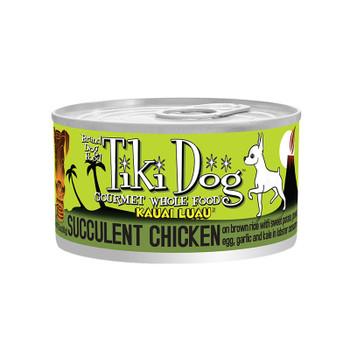 TIKI PETS DOG KAUAI CHICKEN & PRAWN 2.8OZ