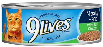 9Lives Ground Chicken Dinner 24/5.5 Cans {L-1}799134