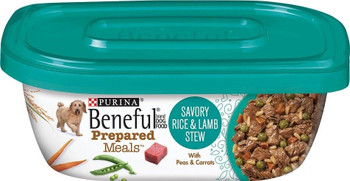 Beneful Prepared Meals Are Delicious Meal Of Wholesome Ingredients. With Meaty, Moist Morsels Of Tender Meat, Grain And Vegetables Simmered To Perfection, Each Bite Of This Entree Provides All The Nutrition You Dog's Health Needs, On The Inside And Out. I