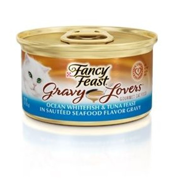Scrumptious Feast With Ocean Whitefish And Tuna In A Satisfying Sauted Seafood Flavor Gravy.