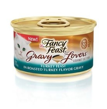 Tempting Pieces With Turkey In A Delectable Roasted Turkey Flavor Gravy.