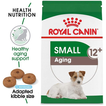 When Small Breed Dogs Reach Their Senior Years, Their Nutritional Needs Change. They May Be Slower, But The Right Diet Can Help Them Stay Active And Vibrant Throughout The Later Stage Of Adulthood.  royal Canin Small Aging 12+ Dry Seni