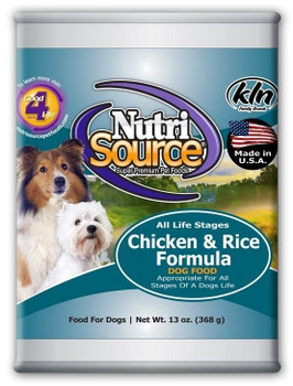 <p>Nutrisource Adult Chicken And Rice Canned Dog Food Uses Farm Fresh Chicken, Ocean Fish, And Other High Quality Ingredients To Create An Easy To Digest Pate Canned Food For Your Pup! This Recipe Also Has Added Prebiotics And Highly Digestible Minerals For</p>