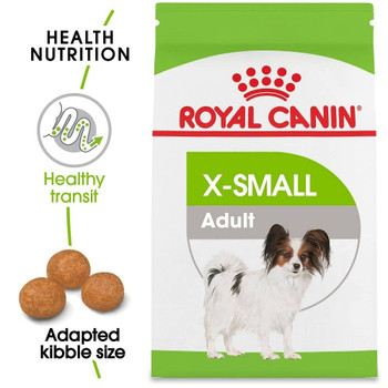 Very Small Dogs Have Unique Physiological Traits, Such As Jaw Size, Bone Strength And Sensitive Digestive Systems, Which Can Benefit From Specialized Nutrition. Royal Canin X-small Is A Full Line Of Formulas Designed To Meet The Particular Needs Of Your T