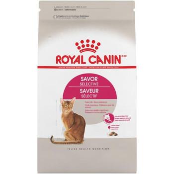 Royal Canin Feline Health Nutrition Savor Selective Dry Cat Food, 6lb C=4