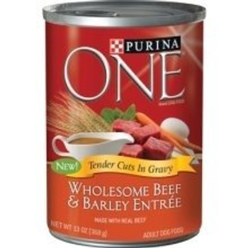 Purina Believes In The Power Of Real Ingredients As Well As The Power Of Great Taste. We Know Your Dog Does, Too, And That's Why Purina Added Great-tasting Gravy To Their Purina One Wholesome Entre Tender Cuts In Gravy. Watch Your Dog#39;s Eyes Light Up