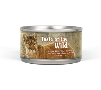Trout And Salmon Can Be Tough To Catch.  But Taste Of The Wild Has Done The Leg Work And Has Brought These High Quality, Protein Packed Meats Directly To Your Cat's Food Bowl!  With Trout As The First Ingredient, This Recipe Is Designed To Mimic An Ancest