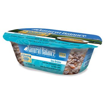 Natural Balance Delectable Delights Grain Free Sea Brulee Flavor Wet Cat Food-2.5-oz, Case Of 12-{L+1}