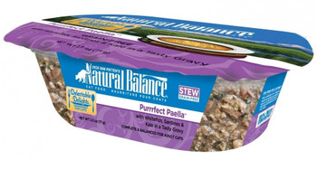 Natural Balance Delectable Delights Grain-free Purrrfect Paella Flavor Wet Cat Food Is A Handcrafted Stew Cooked To Perfection That Your Cat Is Sure To Love! Made With High Quality Protein Including Whitefish And Sardines Paired With Produce Like Kale And