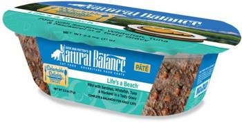 Natural Balance Delectable Delights Lifes A Beach Flavor Wet Cat Food-2.5-oz, Case Of 12-{L+1}