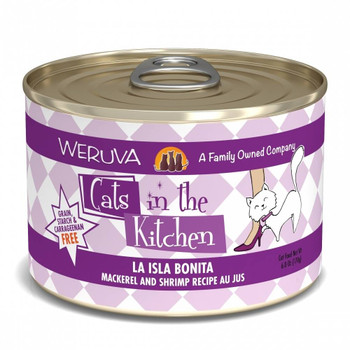 Why Are There So Many Cats In The Kitchen You Ask Probably Because You're Feeding Your Cats Weruva Cats In The Kitchen Isla Bonita Canned Cat Food And They Simply Cannot Get Enough. Full Of Mackerel, Tuna, And Shrimp This Wholesome Food Is Full Of Protei